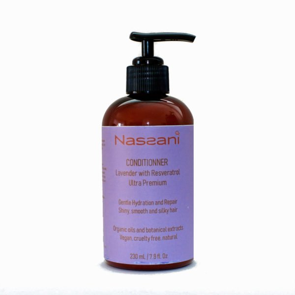Natural conditioner lavander with resveratrol