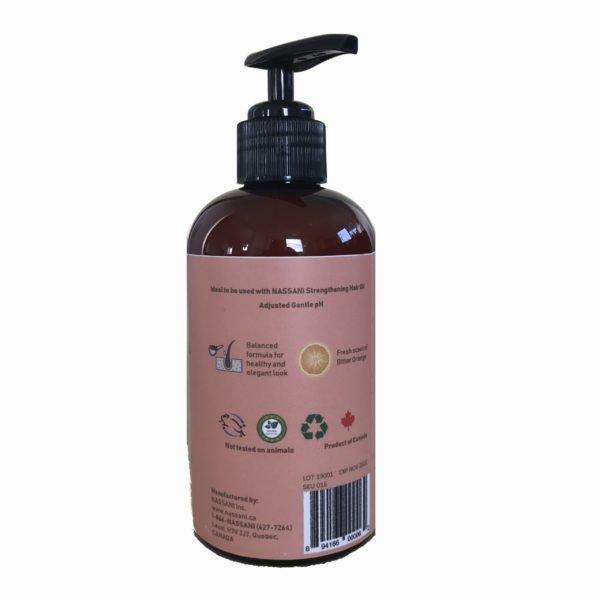 Natural shampoing orange with resveratrol