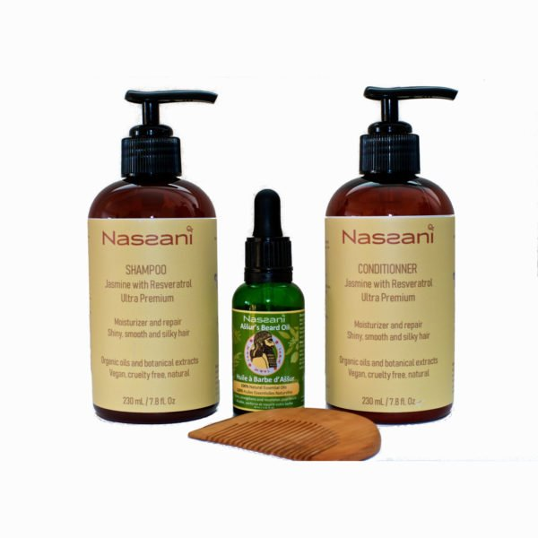 Natural shampoos and conditioners